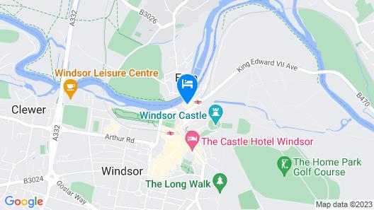 Sir Christopher Wren Hotel. Map