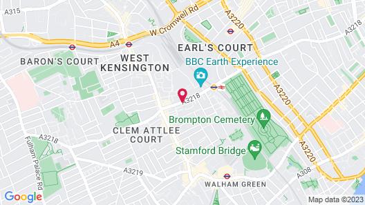 ibis London Earls Court Map