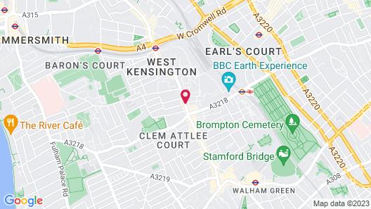 Holiday Inn Express London - Earl's Court Map