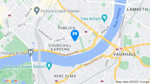 Dolphin House Serviced Apartments Map