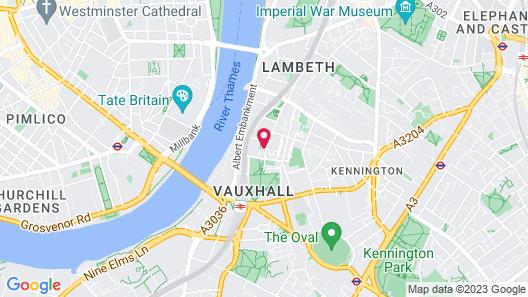 Staybridge Suites London - Vauxhall Map