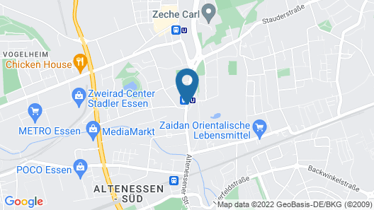 Hotel Böll Essen Map