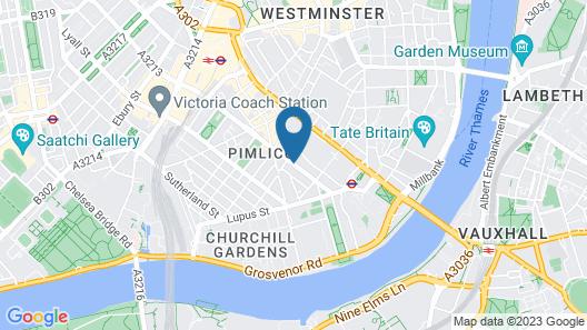 Victoria Inn Map