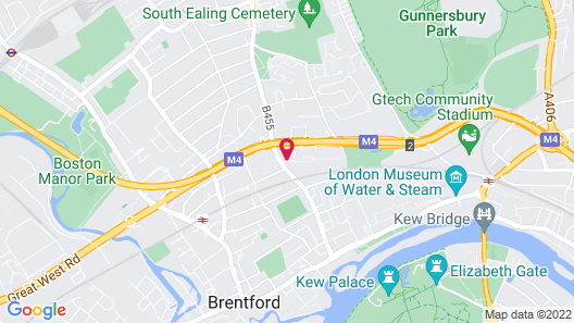 Novotel London Brentford Map