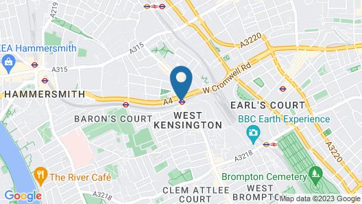 Access West Kensington Map
