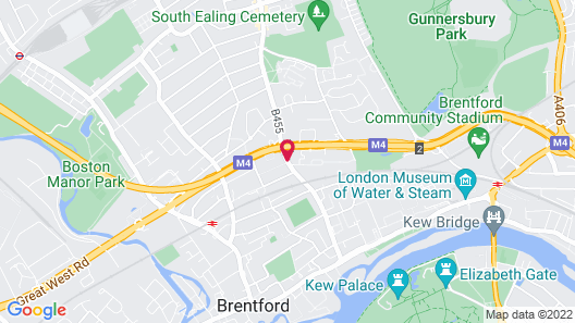 Aparthotel Adagio London Brentford Map