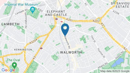 Safestay London Elephant & Castle - Hostel Map