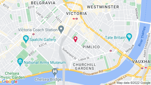 OYO Townhouse New England Victoria Map