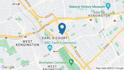 City Continental Kensington London Map