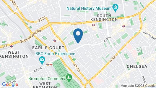 Eson2 - Bolton Gardens Lodge Map