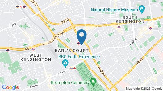 Merit Kensington Hotel Map
