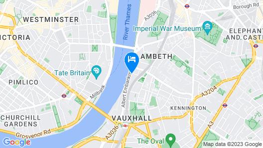 Park Plaza London Riverbank Map