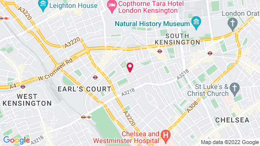 Collingham Serviced Apartments Map