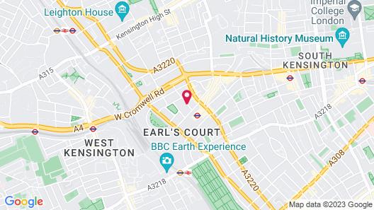 K+K Hotel George Kensington Map
