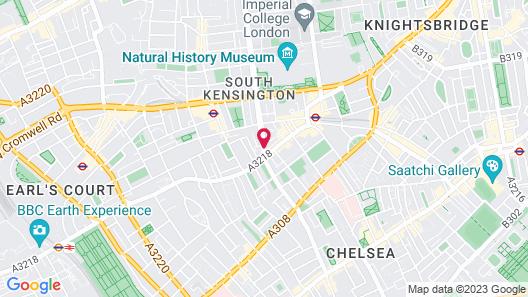 The Kensington Hotel Map