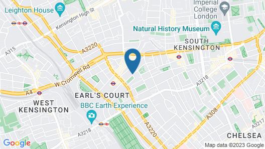 Presidential Apartments - Kensington Map