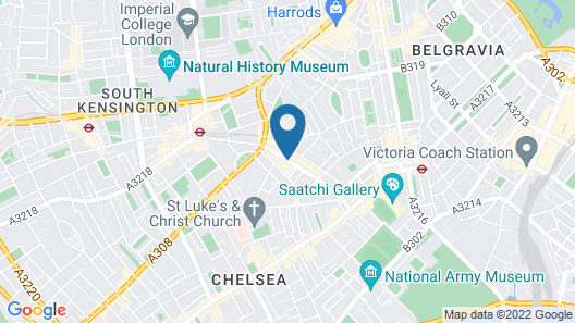 Chelsea Cloisters Map