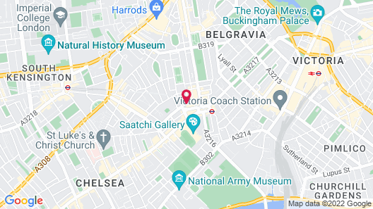 Draycott Hotel by Mantis Map