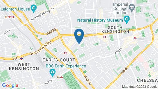 The Resident Kensington Map