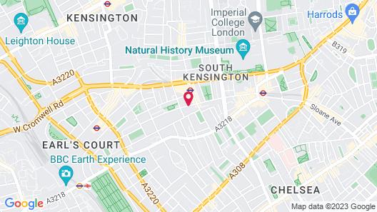 Millennium Gloucester Hotel London Kensington Map