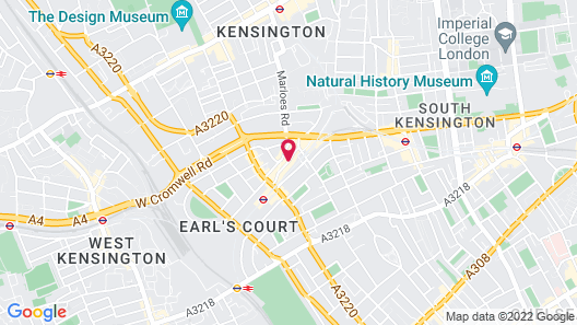 Park Grand London Kensington Map