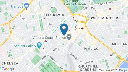 Astors Belgravia Map