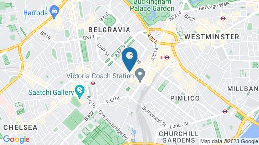 Belgravia Rooms Map