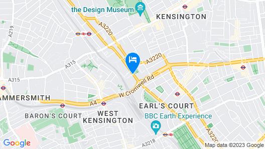 Residence Inn by Marriott London Kensington Map