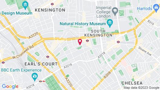 Holiday Inn London-Kensington Forum Map