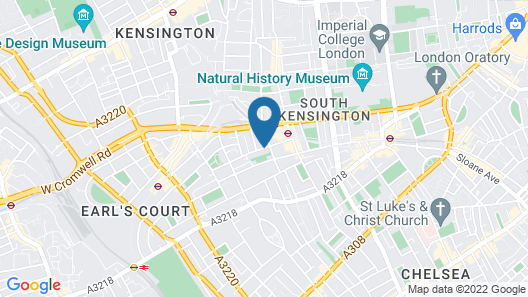 Holiday Inn London-Kensington Forum Map