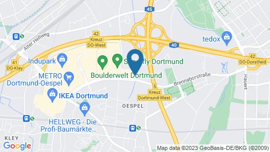ibis Dortmund West Map
