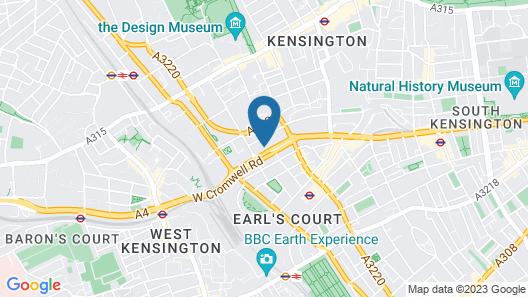 Point A Kensington Olympia Map