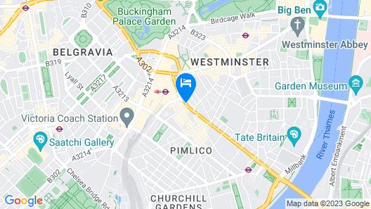 Park Plaza Victoria London Map