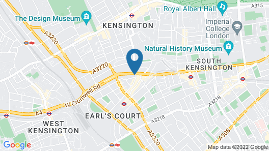 The Carlyle - Elegant Serviced Apartments Map
