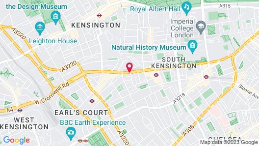 K Hotel Kensington Map