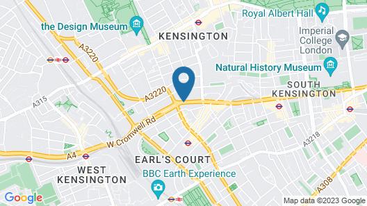 NH London Kensington Map