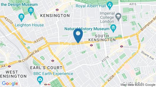 Park International Hotel Map