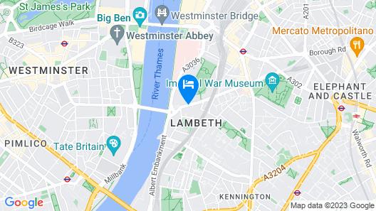 Novotel London Waterloo Map