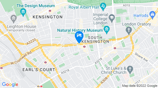 ibis Styles London Gloucester Road Map