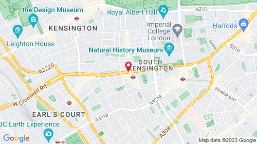 DoubleTree by Hilton London Kensington Map