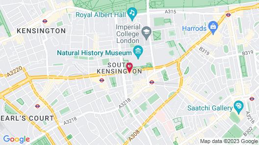MANN Kensington Map