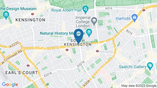 Billionaire Suites Kensington Map