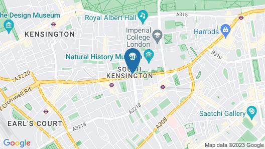 MEININGER Hotel London Hyde Park - Hostel Map