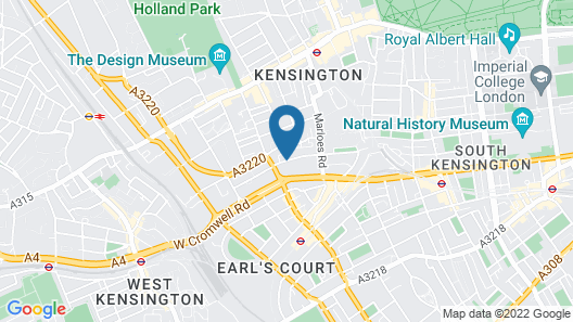 London Lodge Hotel Map