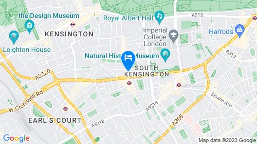 Melia London Kensington a Melia Collection Hotel Map