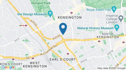 Grand Kensington House Map