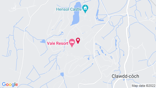 Vale Resort Map