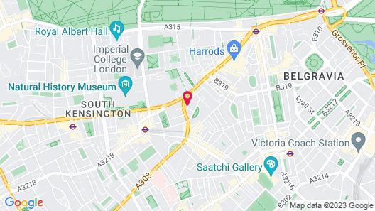 The Franklin London - Starhotels Collezione Map