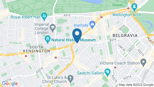 The Egerton House Hotel Map