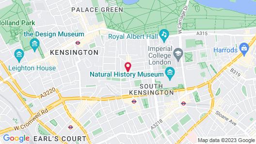 Citadines South Kensington London Map